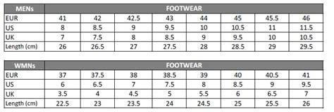 shoe size chart pearl izumi shimano r078 spd sl road shoes black buy online