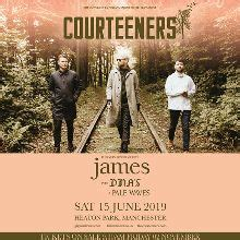 courteeners tickets courteeners tickets in manchester at heaton park on sat