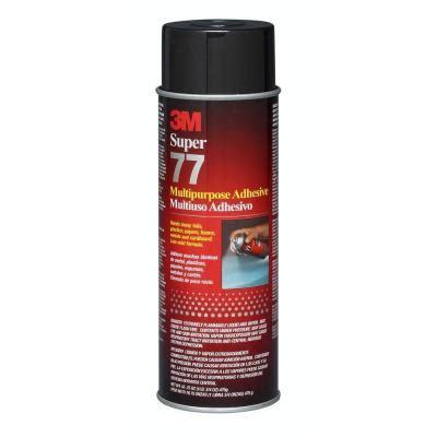 3m spray adhesive 3m 77 16 75 fl oz multi purpose spray adhesive 77 cc the home depot
