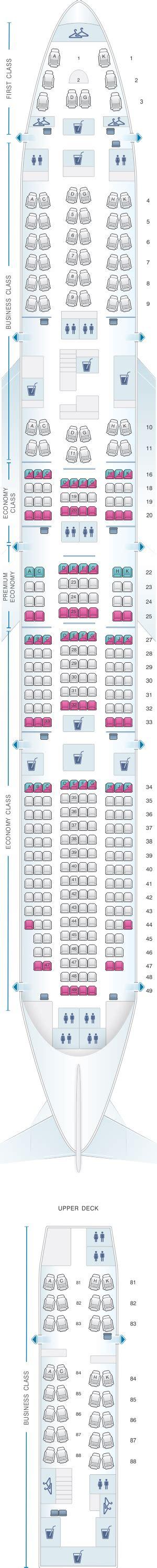 747 8 seat map seat map lufthansa boeing b747 8 364pax seatmaestro