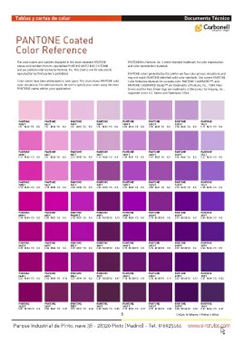 basic solid color chart page 5 carta pantone coated referencia cdr