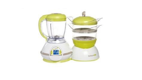 Babymoov Nutribaby Plus Black robot cuiseur mixeur robot maxisaveurs cuiseur vapeur