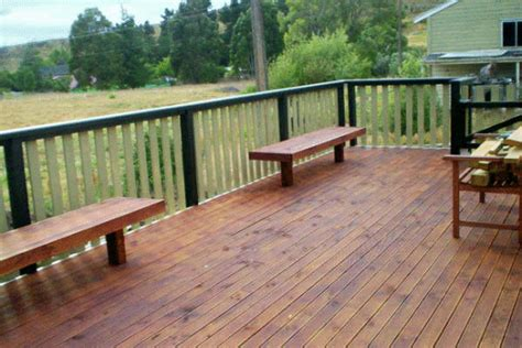 comfortable seating deck bench plans deck bench seat comfortable to enjoy the view kvriver com