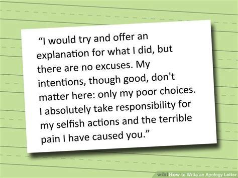 write apology letter apologizing quotes apology