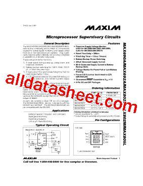 บร ษ ท maxim integrated products thailand co ltd max690a 데이터시트 pdf maxim integrated products