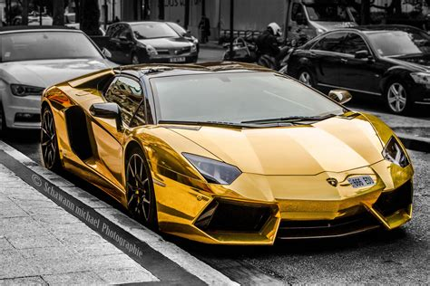 Goldener Lamborghini by Lamborghini Forum Autos Post