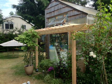How To Build A Hop Trellis New Trellis Amp The Fate Of Tuppence Coop De Kitchen
