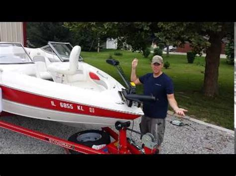 bowrider boat modifications boat conversion from ski sport to quot fish quot 3 youtube