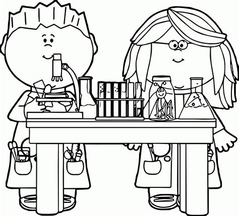 Science Coloring Pages For printable science lab coloring pages coloring home
