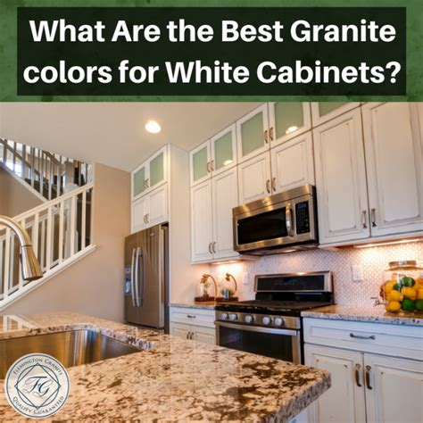 white cabinets with granite what are the best granite colors for white cabinets