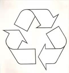 recycle sign template the naturalist s angle recycling fish
