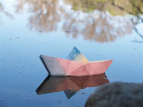 Paper Origami Boat - make a paper origami boat the magic onions