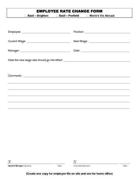 rate agreement template 10 best images of employee pay agreement money loan