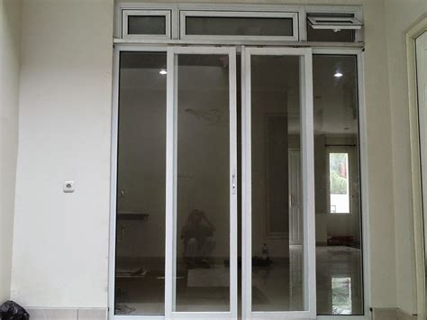 contoh gambar gambar kusen aluminium  bj
