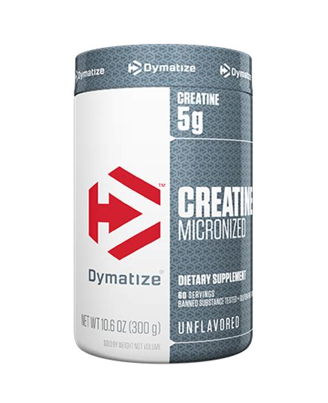 creatine a banned substance dymatize