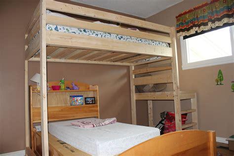 ana white candyland cottage loft bed diy projects ana white loft bed tweak diy projects