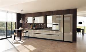 Contemporary Kitchen Cool Ultra Modern Kitchen By Scavolini Digsdigs