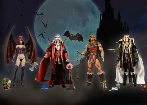 Neca 3 5 Castlevania Dracula X Chronicles Simon Belmont Mini F castlevania 7 figure assortment discontinued necaonline
