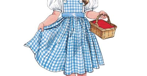 pattern dorothy dress m4948 mccall dorothy dress pattern the wizard of oz