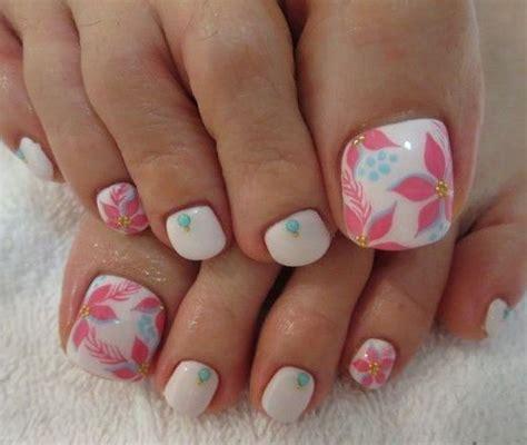 imagenes de uñas decoradas sencillas para los pies u 241 as decoradas para pies morenos