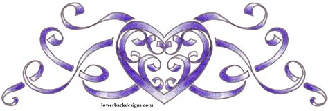 heart tattoo designs with banner spiritis ministers blessing