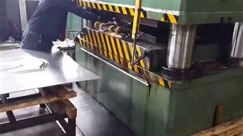 steel security doors hydraulic press 2000 tons door panel