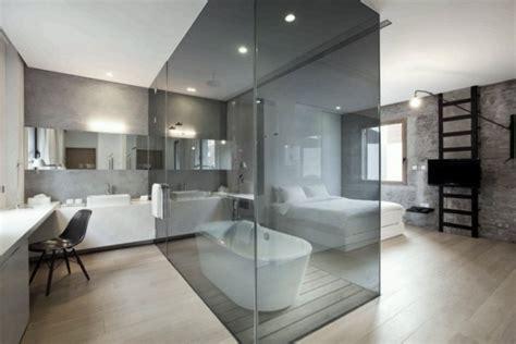 schlafzimmer mit bad freistehende badewanne im schlafzimmer keine klare