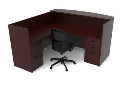 premium office furniture premium laminate wood reception station