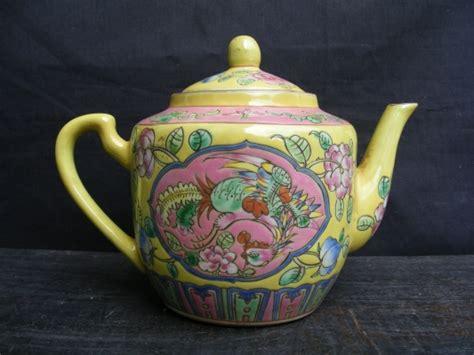 maspion teko alladin 14 cm yellow yellow pink nyonya nonya teko teapot tea for