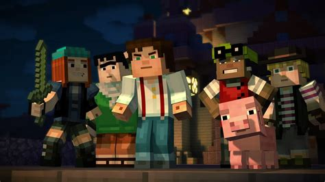 minecraft story mode minecraft story mode episode one review 24 7gamer