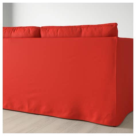 red corner sofa bed br 197 thult corner sofa bed vissle red orange ikea