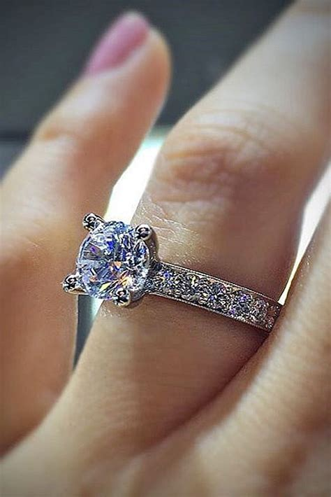 Wedding Rings Beautiful by 17 Best Ideas About Popular Engagement Rings On