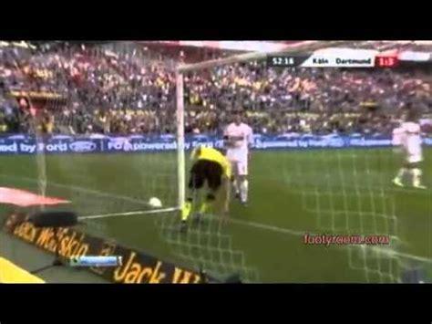 footyroom latest football highlights fc koln 1 6 borussia dortmund footyroom latest