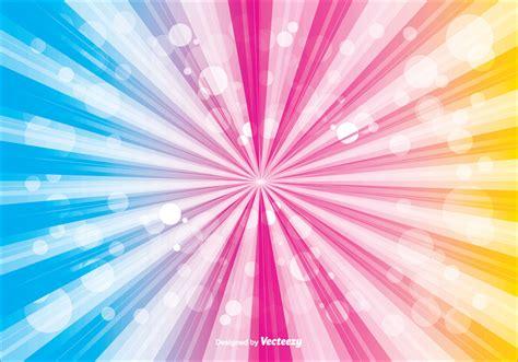 vector background colorful sunburst vector background free vector