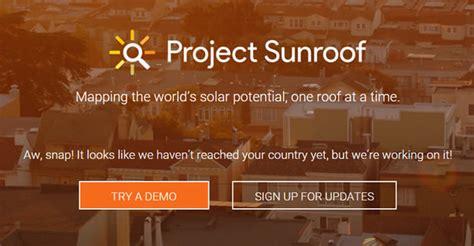 project sunroof google 171 inhabitat green design blog aecweb projeto do google incentiva gera 231 227 o de