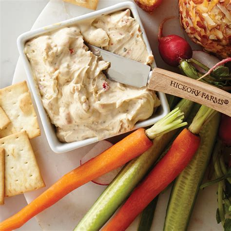garden vegetable cheese hickory farms garden vegetable cheese spread hickory farms