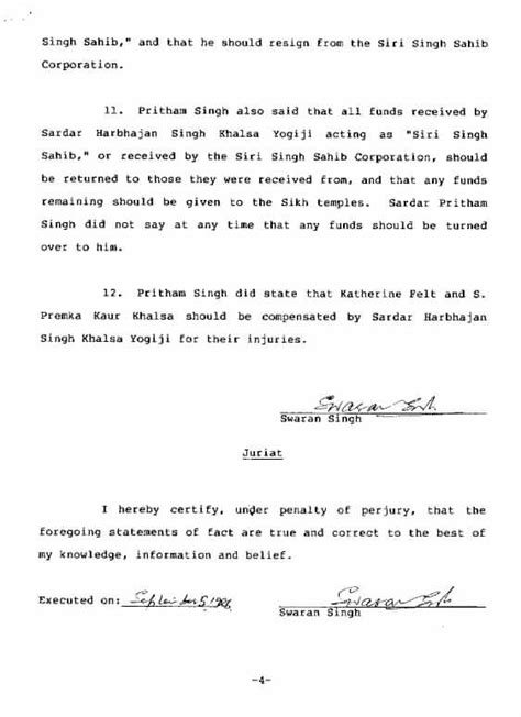 court affidavit template court affidavit free printable documents