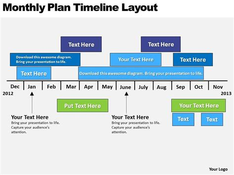 Layout Template Cache Enabled | business powerpoint exles plan timeline layout
