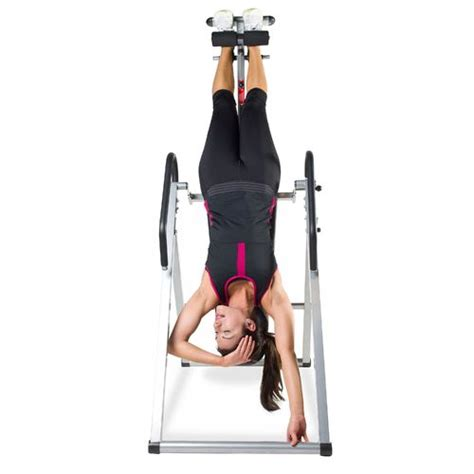 elite fitness deluxe heat and inversion table inversion academy