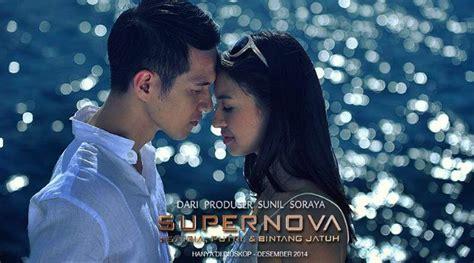 film bioskop indonesia supernova mesranya herjunot ali dan raline shah di foto terbaru