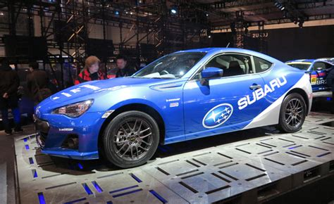 subaru brz racing gazoo racing subaru brz race is subtle track ready 2013