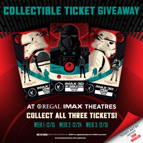 Amc Giveaway - imax rogue one giveaways yodasnews com star wars action figures collectibles