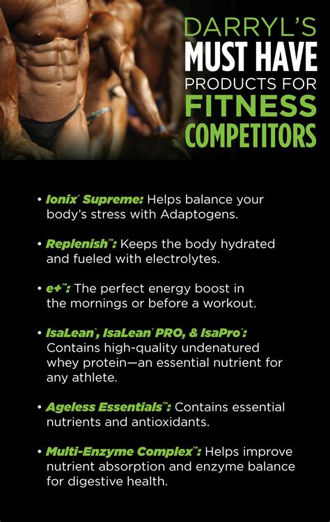 work in the athlete s plan for real recovery and winning results books 6 tips for fitness competitors athletes from isagenix