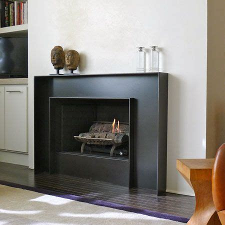 metal fireplace surrounds best 10 mosaic tile fireplace ideas on
