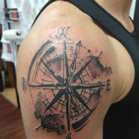 collection of 25 compass rose tattoo