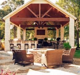 patio cover tv mcbeth outdoor living traditional patio houston by the