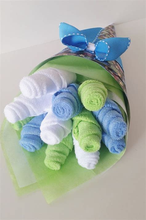 Baby Shower Washcloth Bouquet by 1000 Ideas About Washcloth Bouquet On