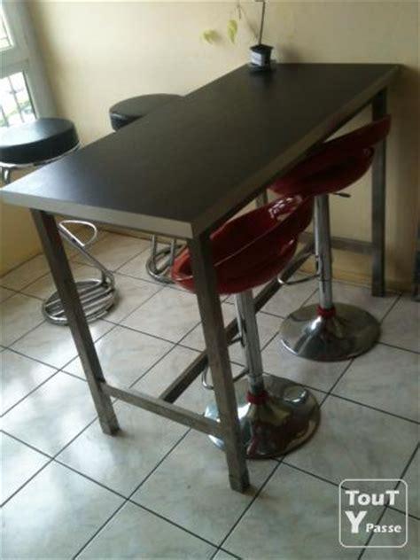 table de cuisine haute ikea photo table de bar haute ikea