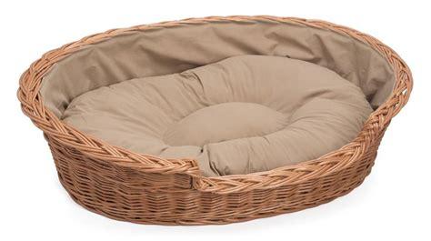 cat or wicker cushioned cat or basket by prestige wicker notonthehighstreet