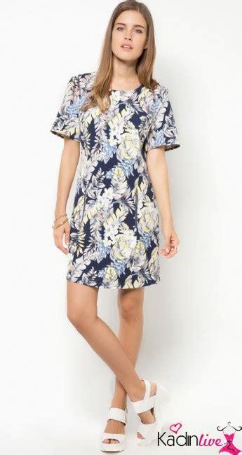 Fedora Tunik 1 tropikal baskılı tunik elbise modelleri kadinlive